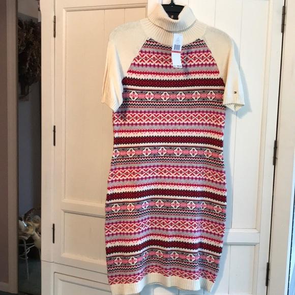 62% off Tommy Hilfiger Dresses & Skirts - Tommy Hilfiger Cream ...